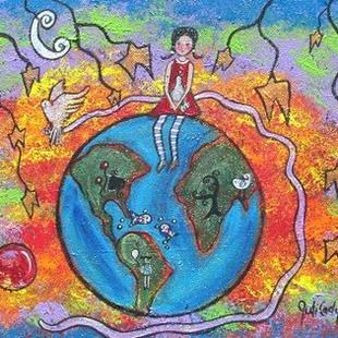 Art: Earth Love by Artist Juli Cady Ryan