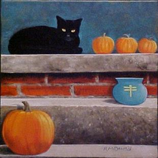 Art: HALLOWEEN 2010 by Artist Rosemary Margaret Daunis