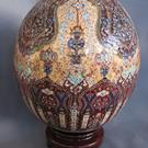 Art: Hereke Turkish Rug Pysanka by Artist So Jeo LeBlond