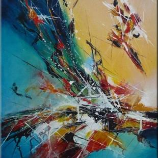 Art: ORIGINAL ABSTRACT PAINTING , MODERN ART  by Artist Nataera