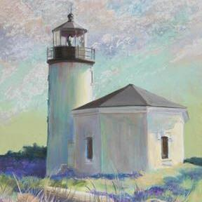 Art: Bandon Afternoon by Artist Carol Thompson
