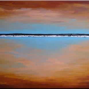 Art: ORIGINAL abstract LANDSCAPE PAINTING  , MODERN Art     by Artist Nataera