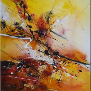 Art: ORIGINAL abstract PAINTING , MODERN Art - SOLD by Artist Nataera