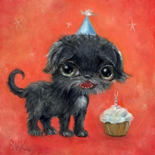 Art: Happy Birthday! by Artist Vicky Knowles