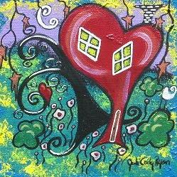Art: Happy Home by Artist Juli Cady Ryan