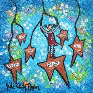 Art: Wishing On Stars by Artist Juli Cady Ryan