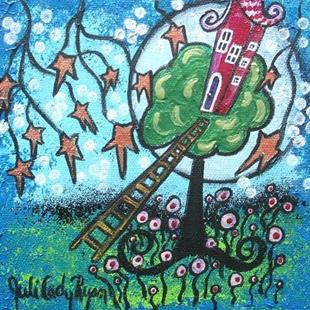 Art: Magical Treehouse by Artist Juli Cady Ryan