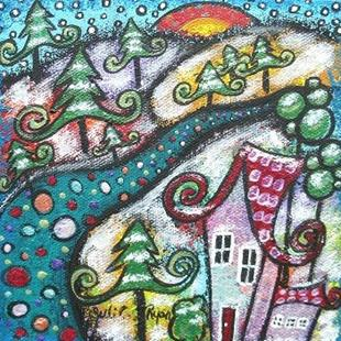 Art: Morning Snow by Artist Juli Cady Ryan