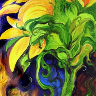 Art: SUNFLOWER MELODY by Artist Marcia Baldwin