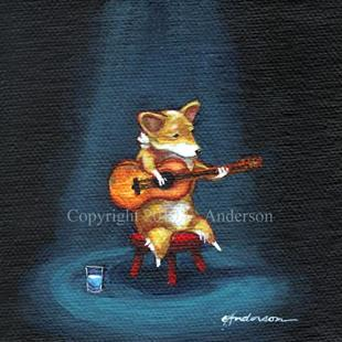 Art: Acoustic Solo by Artist paintedbyevie
