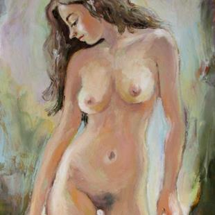 Art: Etude of nude female by Artist Luda Angel