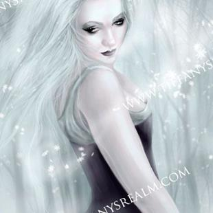 Art: Winter Soul by Artist Tiffany Toland-Scott