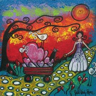 Art: Sharing Her Love by Artist Juli Cady Ryan