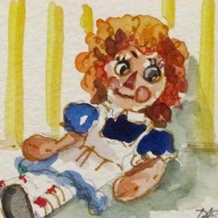 Art: Raggedy Ann by Artist Delilah Smith