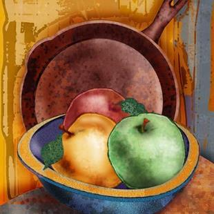 Art: Apples by Artist Mary Ogle