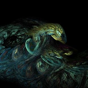 Art: NEST OF VIPERS by Artist RUTH J JAMIESON