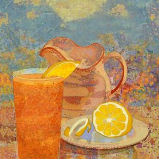 Art: Iced Tea by Artist Mary Ogle