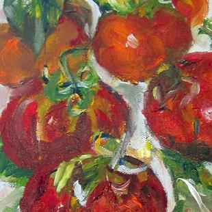 Art: Vine Tomato's by Artist Delilah Smith