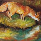 Art: RED FOX I by Artist Marcia Baldwin
