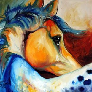 Art: APPALOOSA BEYOND by Artist Marcia Baldwin