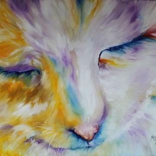 Art: PASTEL PERSIAN by Artist Marcia Baldwin