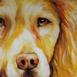Art: GENTLE GOLDEN by Artist Marcia Baldwin