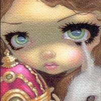 Art: Faces of Faery 150 ACEO - CHARITY AUCTION by Artist Jasmine Ann Becket-Griffith