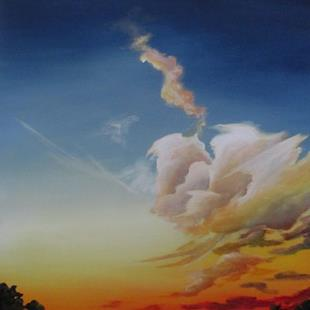 Art: Summer Skies by Artist Christine E. S. Code ~CES~