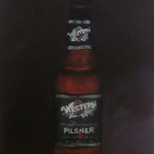 Art: Great Western Pilsner by Artist Christine E. S. Code ~CES~