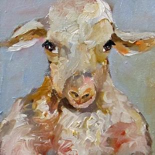 Art: Sheep No.2 by Artist Delilah Smith