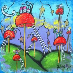 Art: Mushroomland by Artist Juli Cady Ryan