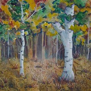 Art: Autumn Enchantment by Artist Melanie Pruitt