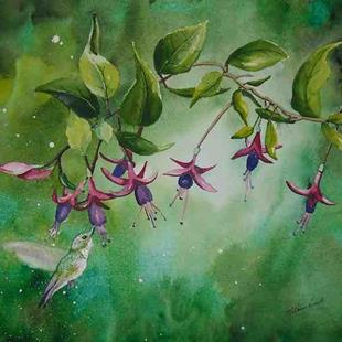 Art: Garden Enchantment by Artist Melanie Pruitt