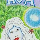 Art: Mom Mother Bookmark-(choose hair, eye color) by Artist Sherry Key