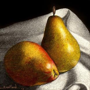 Art: Pears - Thumbnail by Artist Sandra Willard