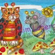 Art: Cat-A-Bug & Bumble Mouse by Artist Kim Loberg