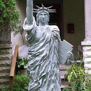 Art: 'Statue of Liberty Replica' Commission by Artist Patience