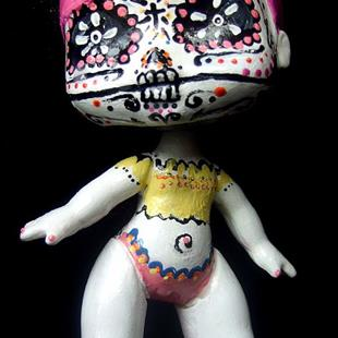 Art: Day of the Dead 1 (Nasty Toys for Naughty Children) by Artist Noelle Hunt
