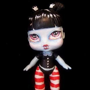 Art: Liddle Vampire (Nasty Toys for Naughty Children) by Artist Noelle Hunt