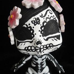 Art: Day of the Dead 2 (Nasty Toys for Naughty Children) by Artist Noelle Hunt