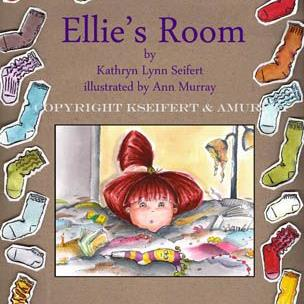 Art: Ellie's Room children's book illustration by Artist Ann Murray