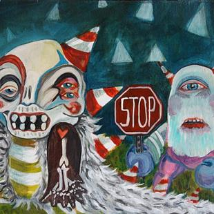 Art: stop! don't leave me by Artist Alexis Covato