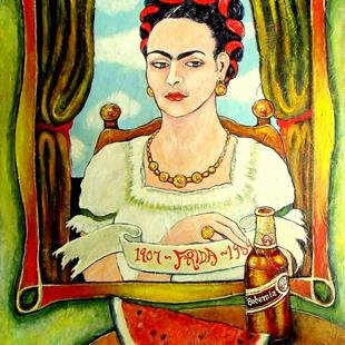 Art: Frida-Bohemia by Artist Patience
