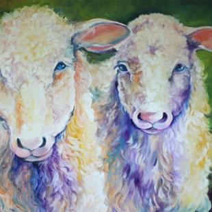 Art: Commissioned BAA BAA X2 by Artist Marcia Baldwin