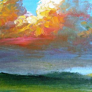 Art: Summer Cumulonimbus (Sold) by Artist Kimberly Vanlandingham