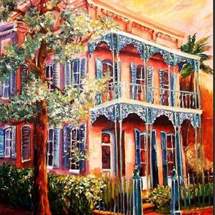Art: In the Garden District - SOLD by Artist Diane Millsap