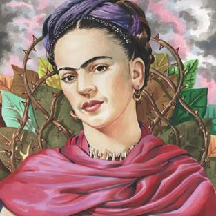 Art: Frida.jpg by Artist Mark Satchwill