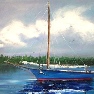 Art: Sail Away - sold by Artist Ulrike 'Ricky' Martin