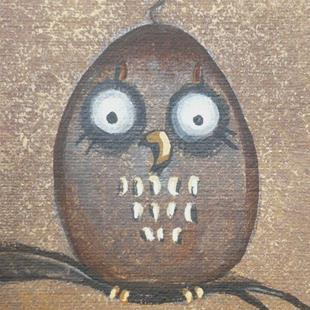 Art: Hoot by Artist Charlene Murray Zatloukal
