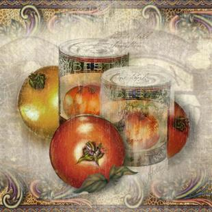 Art: Cannery Row Tomatoes by Artist Alma Lee